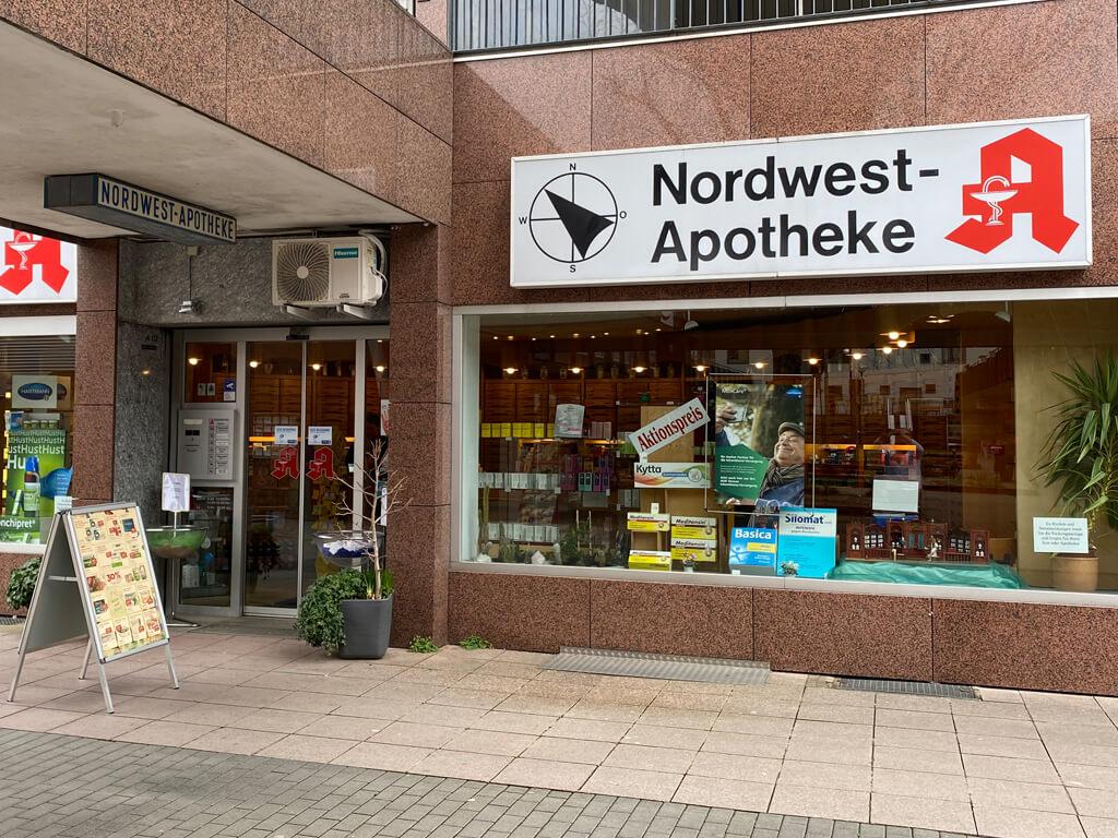 Nordwest-Apotheke Außen
